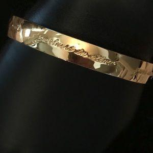 kate spade Jewelry - Like New Kate spade friendship bangle